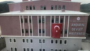 Andırın devlet hastanesi yeni binası hizmete açıldı