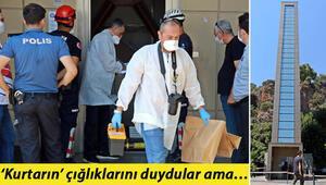 Antalyada asansör boşluğunda erkek cesedi bulundu