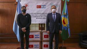 Türkiye'den Arjantin'e koronavirüsle mücadelede destek