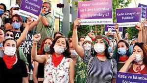 Kadınlardan eylem: 'Hayatlarımız için İstanbul Sözleşmesi uygulansın'