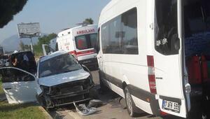 Muğlada korkunç kaza 1 ölü, 10 yaralı