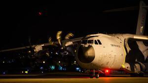 Son dakika haberi: Türkiyeden Beyruta yardım götüren uçak hareket etti