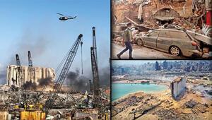 Beyrutta yıkım... Facia nasıl geldi