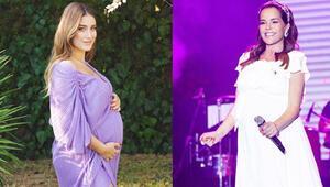 Hamileyken de şıklığından ödün vermeyen 7 ünlü anne