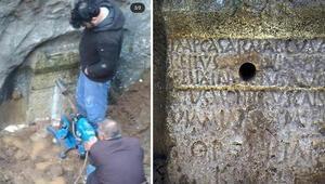 İşte tarih katilleri... Mersinde tarihi anıta büyük saygısızlık