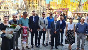 Nürnberg Türk İnisiyatifi'nden, Belediye Başkanı'na ziyaret