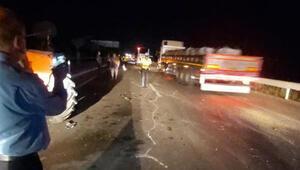 Sandıklıda zincirleme kaza: 1 ölü, 3 yaralı