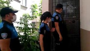 Polis ev ev dolaşıp vatandaşları hırsızlara karşı uyardı
