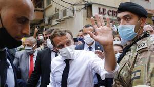 Fransa Cumhurbaşkanı Macron: Lübnana koşulsuz yardım öncelikli olmalı