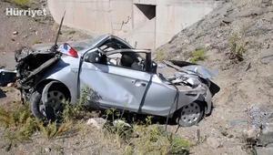 Doğubayazıt'ta otomobil şarampole devrildi: 3 ölü, 2 yaralı