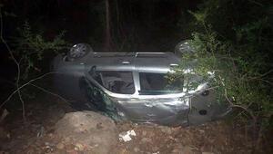 Antalyada feci kaza 1 ölü, 4 yaralı