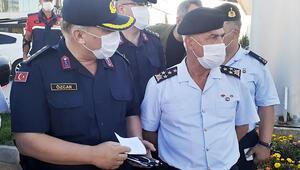 Jandarma Genel Komutanı Orgeneral Çetinden koronavirüs denetimleri açıklaması
