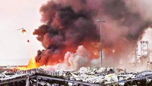 Patlamanın gerçekleştiği Beyrutta 16 kişi gözaltına alındı