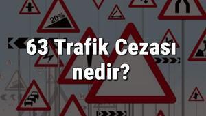 63 Trafik Cezası nedir Madde 63 Trafik Cezası ne kadar Ceza puanı kaçtır (2020)