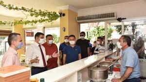 Anamur Kaymakamı Başaran: Müşterilerinize çay yerine maske ikram edin