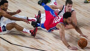 Son dakika | Philadelphia 76ersa şok Ben Simmons sakatlandı...