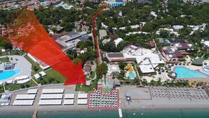 5 yıldızlı otelin sahilde adil paylaşım isyanı