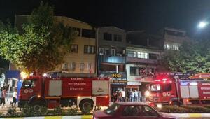 Söndürülmeyen ızgara yangına neden oldu