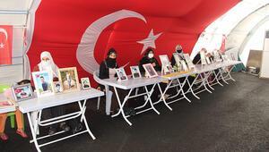 HDP önündeki eylemde 340ıncı gün, aile sayısı 142 oldu