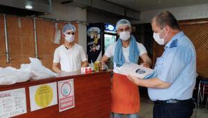 Bağcılar'da koronavirüs denetimleri devam ediyor