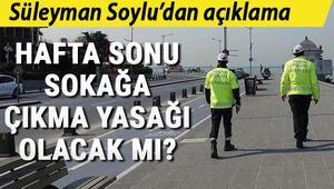 Son Dakika: Sokağa çıkma yasağı var mı (8-9 Ağustos).. Merak edilen sorunun cevabını Süleyman Soylu açıkladı..