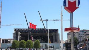 Yeni AKM inşaatının yüzde 57si tamamlandı