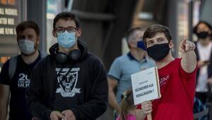 Avrupada maske yasağına uymayana büyük ceza