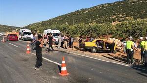 Gaziantepte korkunç kaza 11 yaralı