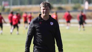 Ertuğrul Sağlam: Samsunsporu hak ettiği Süper Lige taşıyacağız