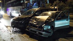 Muğlada zincirleme kaza 5 yaralı