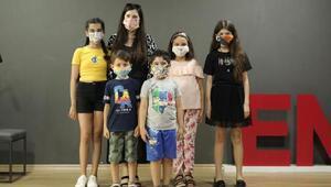 Öğrenciler en güzel maske tasarımı için yarıştı