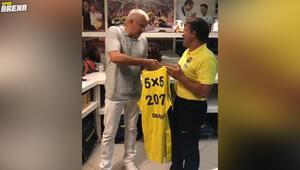 Fenerbahçe Beko malzemecisinden Obradovice jest