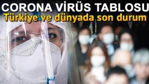 9 Ağustos Koronavirüs(coronavirüs) tablosu: Türkiye vaka ve ölüm sayısı.. İstanbul, Ankara, Konya il il koronavirüs son durum haritası