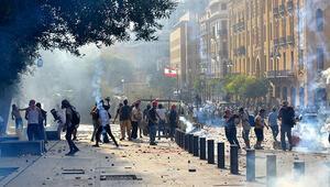 Beyruttaki gösterilerin bilançosu: 1 ölü, 238 yaralı