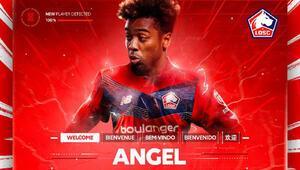 Manchester Uniteddan ayrılan Angel Gomes, Lillede