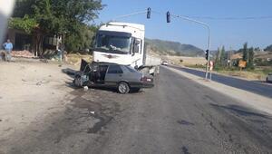 Kahramanmaraşta kaza: 2 yaralı