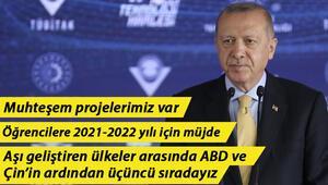 Son dakika haberler... Türkiye için tarihi gün Cumhurbaşkanı Erdoğandan önemli açıklamalar