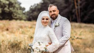 Keup Caddesi Esnafları Başkanı Şahin, iş insanı Özkan ile evlendi