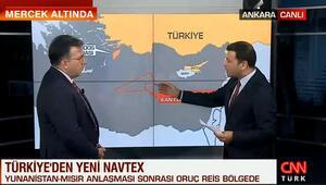 Abdullah Ağar, Doğu Akdenizde ilan edilen Navtexi detaylarını aktardı