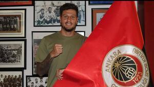 Son dakika | Gençlerbirliğinin ilk transferi Diego Angelo oldu