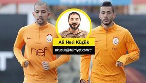 Son dakika   Galatasarayda transfer operasyonu başlıyor: Belhanda ve Feghouli satılıyor