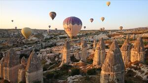 Kapadokya bölgesini 7 ayda 419 bin 905 turist ziyaret etti