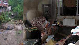 Rize'de selin verdiği hasar ortaya çıktı