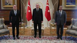 Cumhurbaşkanı Erdoğan, Azerbaycan Dışişleri Bakanını kabul etti