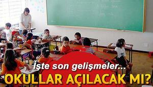 MEBten son dakika açıklama: Okullar açılacak mı