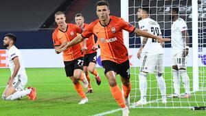 UEFA Avrupa Liginde yarı finale Shakhtar ve Sevilla yükseldi