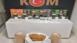 Eskişehir'de kaçak tütün ve sigara operasyonu