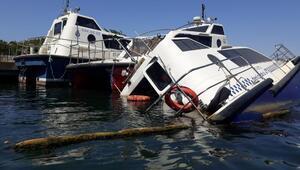 Deniz taksiler Haliçte çürüyor... Fadıl Akgündüz döneminde operasyon durdu