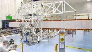 Sentinel-1C radar anteni, kanatlarını ilk kez açtı