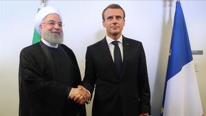 Ruhani ile Macron, nükleer anlaşma ve Lübnandaki durumu görüştü